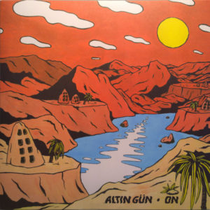 Altin Gun - On Album Art