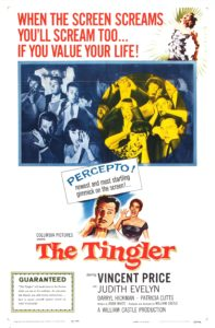The Tingler 1959 movie poster