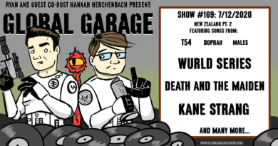 Global Garage #169: New Zealand co-hosted by Hannah Herchenbach of PGX (pt. 2)
